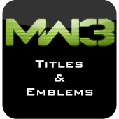 MW3 Titles and Emblems Premium