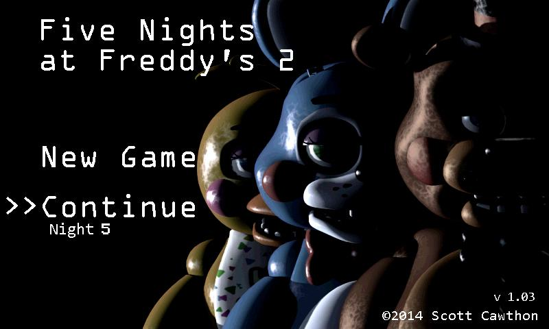 Five Nights at Freddy's 2- screenshot