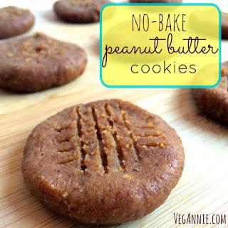 No-Bake Peanut Butter Cookies.
