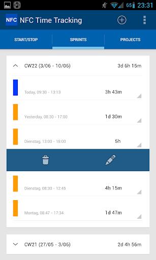 玩免費生產應用APP 下載NFC Time Tracking app不用錢 硬是要APP