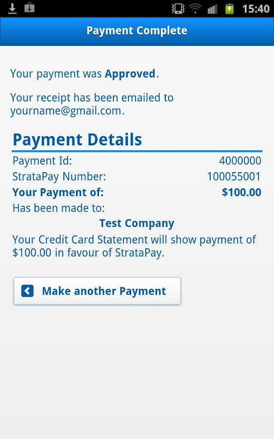 StrataPay- screenshot
