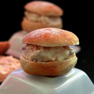 Buttermilk Rolls with Tuna Paste.