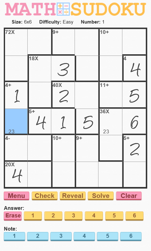 Math Sudoku Android Apps On Google Play