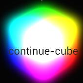 continue-cube