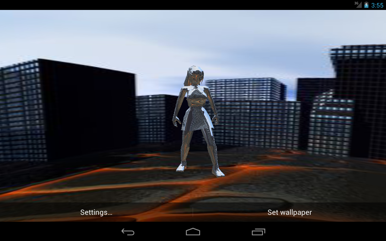 3D Panorama Avatar LWP PRO- screenshot