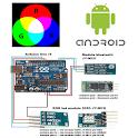 Led RGB Arduino Bluetooth icon