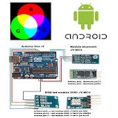 Led RGB Arduino Bluetooth