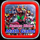 Kamen Rider Math Game For Kids