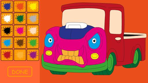 Child Car Coloring
