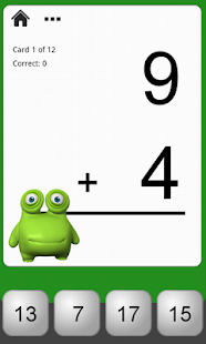 Monster Math Flash Cards Lite- screenshot thumbnail