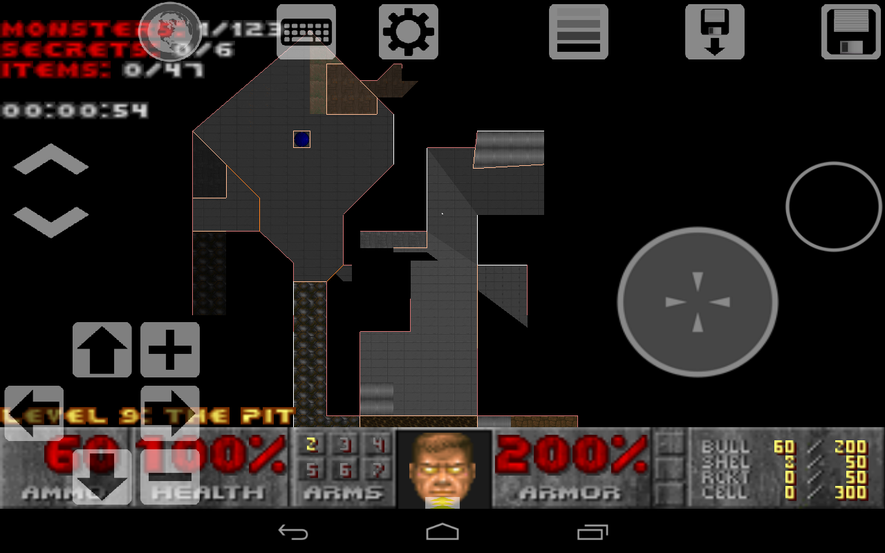 D-Touch (Port of Doom) - screenshot