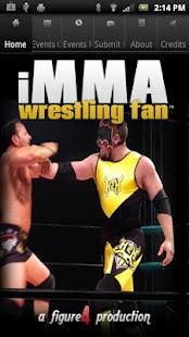 iMMA Wrestling Fan - screenshot thumbnail