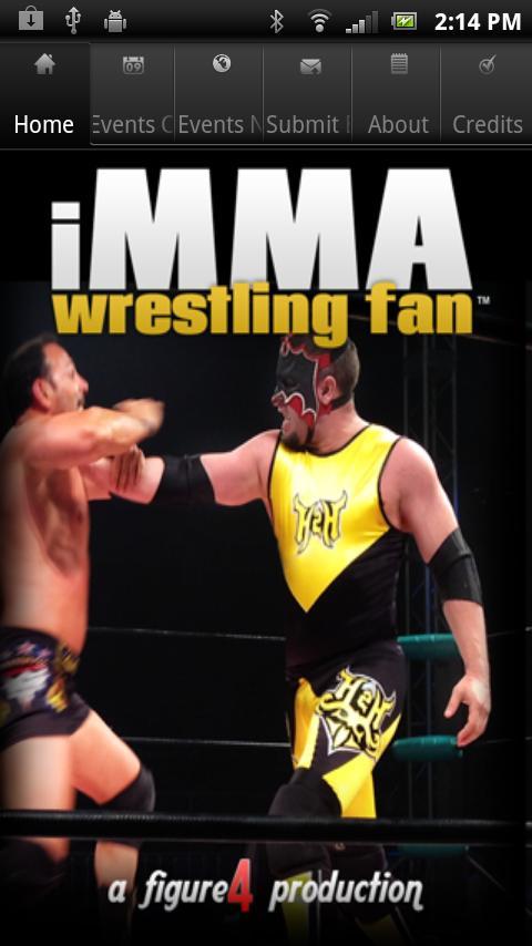 iMMA Wrestling Fan - screenshot