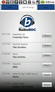 Boston.com RadioBDC - screenshot thumbnail