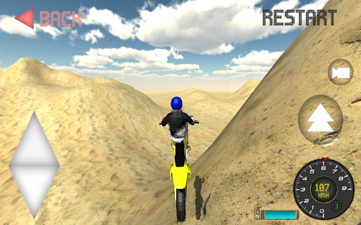 Motocross Rally Race
