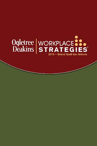 Workplace Strategies 2015