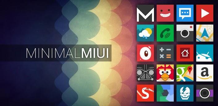 Minimal MIUI Go Apex Theme
