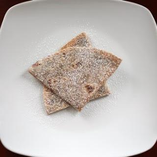 Chocolate Cinnamon Quesadillas