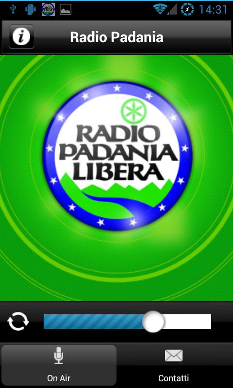 Radio Padania Libera - screenshot