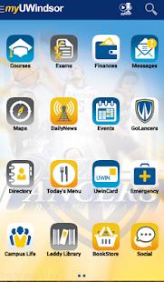 myUWindsor Mobile - screenshot thumbnail