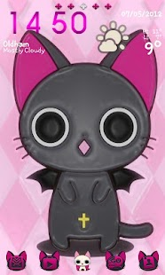 Vampire Kitty Go Launcher