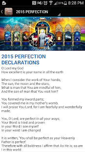 ICGC Prophetic Declarations - náhled