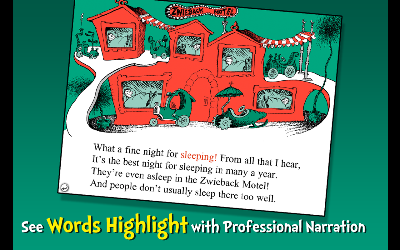 Dr. Seuss's Sleep Book- screenshot
