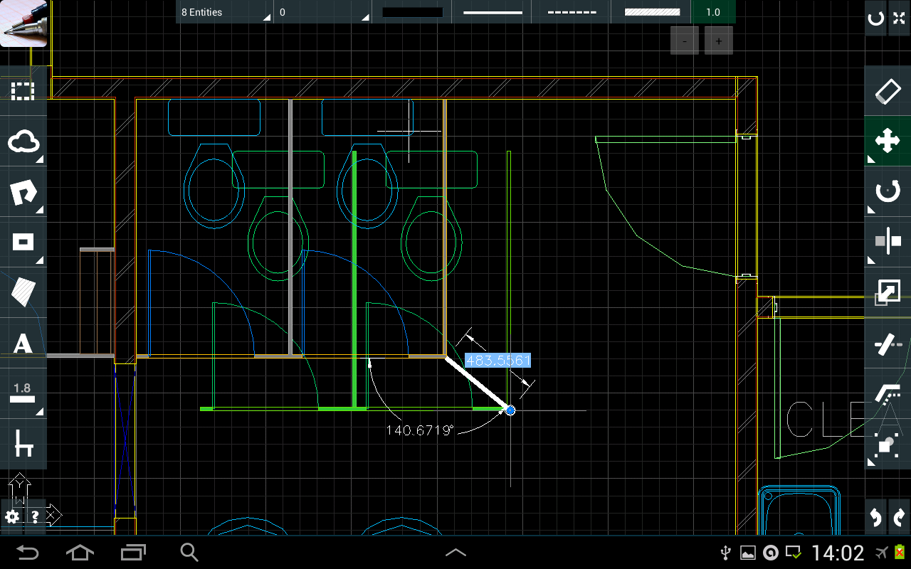 CAD Touch Free- screenshot