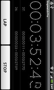 Simple Stopwatch- screenshot thumbnail