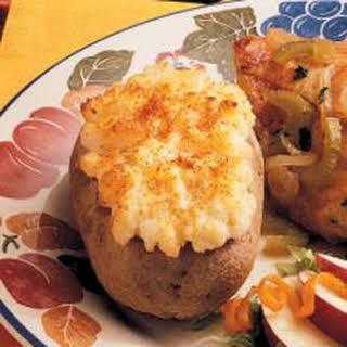 Creamy Twice-Baked Potatoes.