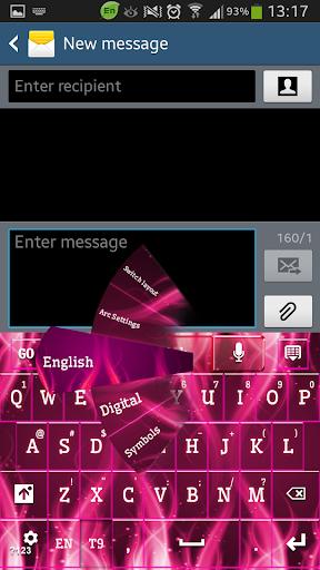GO短信加强版粉红火焰