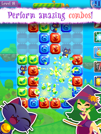 Magic Cats Journey - Match-3 1.0.1 screenshot 101718