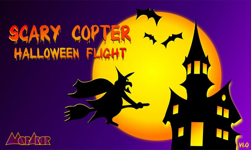 Scary Copter Halloween Flight- screenshot