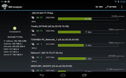 Wifi Analyzer Screenshot 11