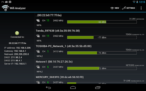 Wifi Analyzer Screenshot 15