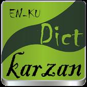 English<>Kurdish (Karzan Dict)