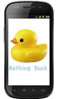 Screenshot of Bathing Duck