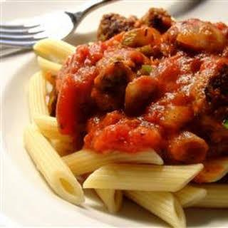 Pasta Sauce with Italian Sausage.