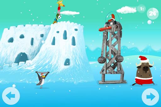 Klubáci na sněhu