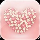 GO SMS/GOLauncher Flower theme