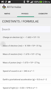 Lastest All Formulas APK