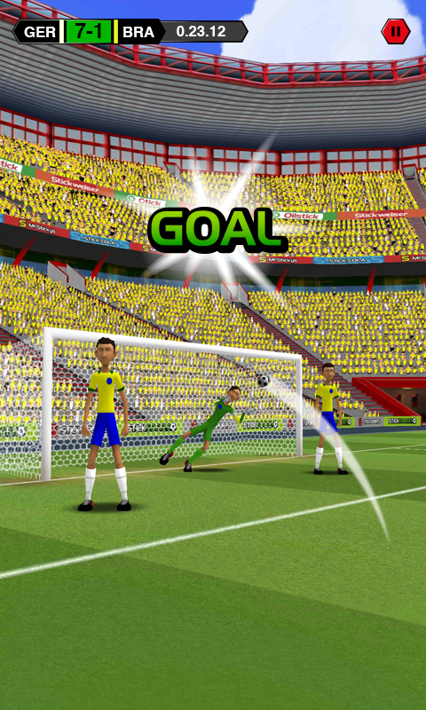 Stick Soccer screenshot #1
