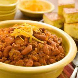 Rapid Weeknight Chili (6 Servings).