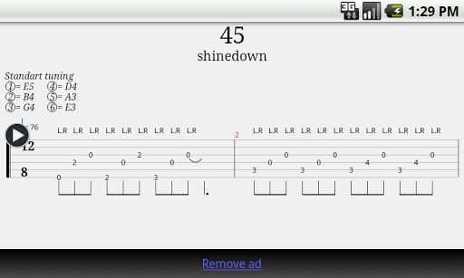 【免費音樂App】Guitar Tab Player-APP點子