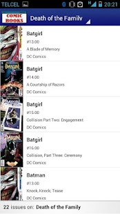 Comic Books Collector VE- screenshot thumbnail