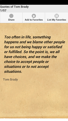 Quotes of Tom Brady