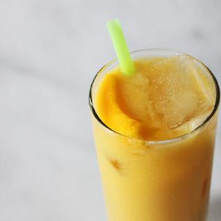 Mango and Coconut Milk Batida.