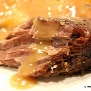 Slow Cooker Pot Roast with Gravy.