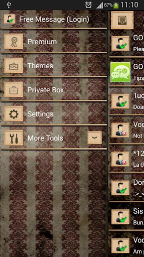 無料娱乐AppのGO SMS Proのお化け|記事Game