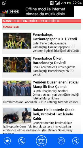 【免費新聞App】Güncel Son Dakika Haberler-APP點子